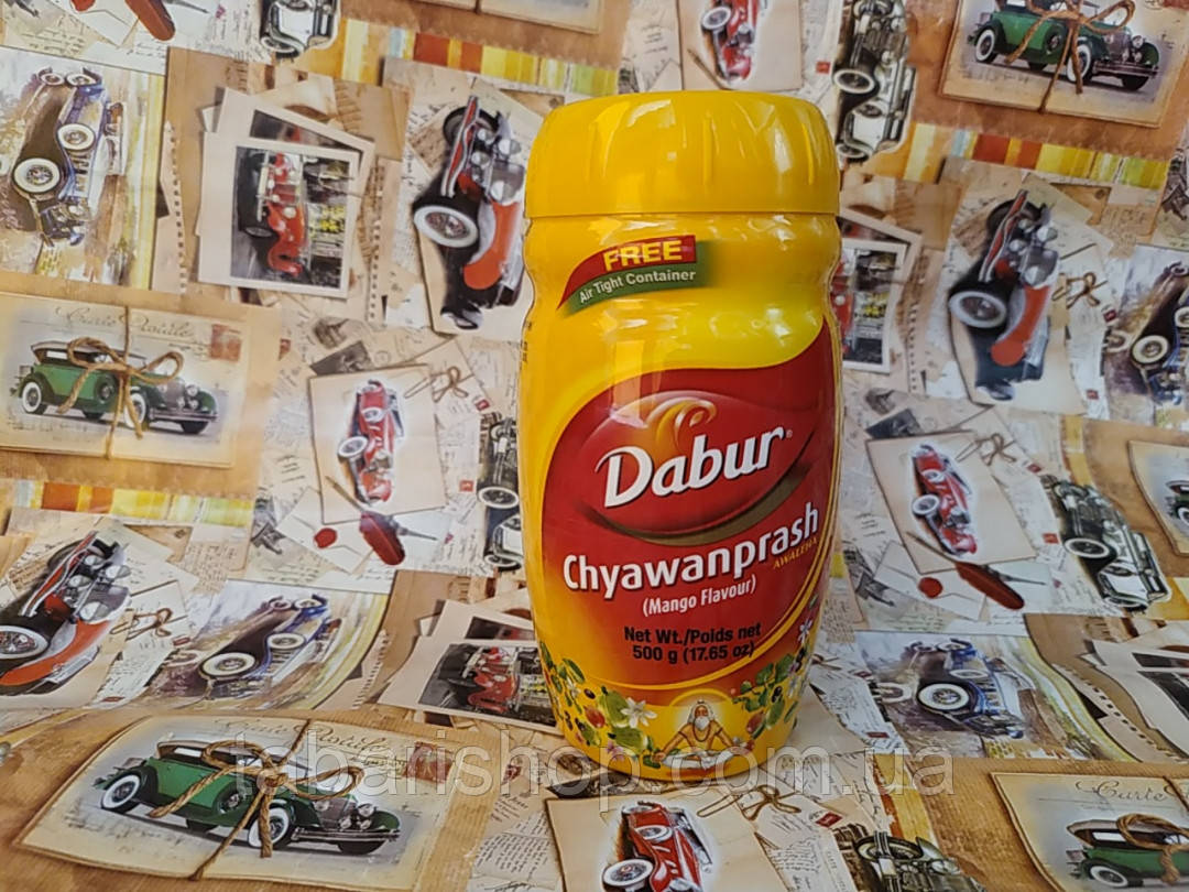 Чаванпраш Дабур Манго, Chyawanprash Mango Dabur, 500гр