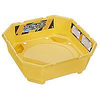 Арена Beyblade Burst с ловушками (BeyBlade Arena) 36Х12,5 см большая Желтый