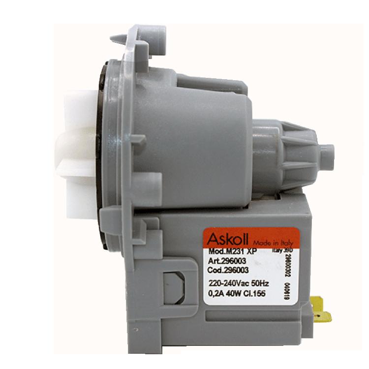 Насос (помпа) слива воды Askoll 40W (296003) для стиральных машин LG, AEG, Gorenje, Hansa, Samsung, Whirpoll