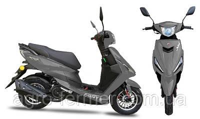 Скутер, мотоцикл Forte JOG 80CC сірий