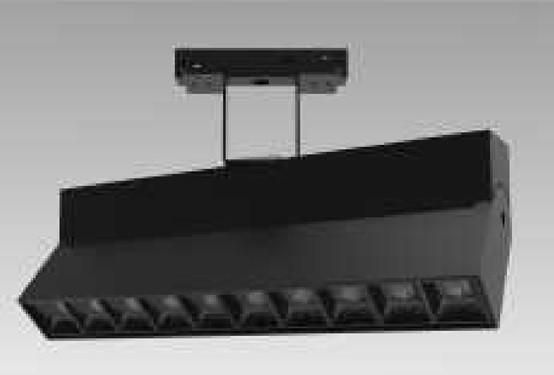 Трековый светильник на магнитную шину Vela Fold-10 24° 24W