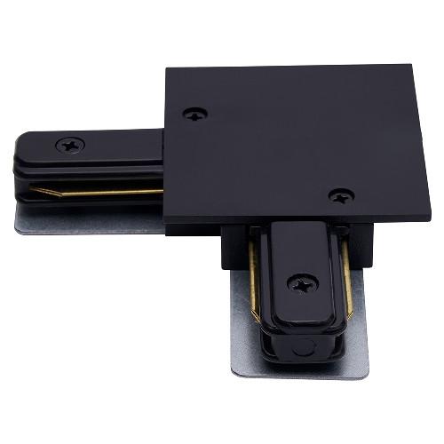 З'єднувач вбудованого шинопровода LR-BK кутовий чорний