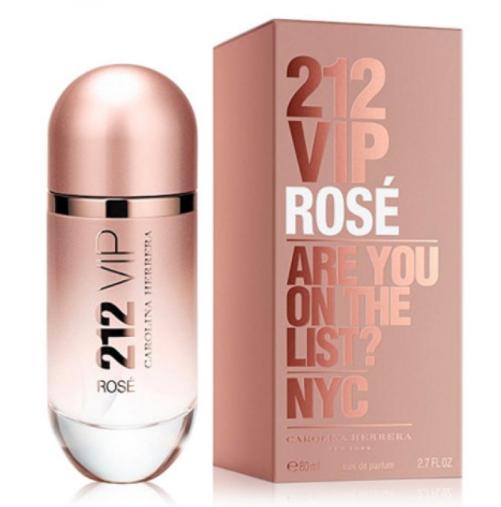 Женская парфюмированная вода Carolina Herrera 212 Vip Rose,80 мл