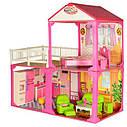 Ляльковий будиночок 6982B для Барбі My Lovely Villa - 2 поверхи, 3 кімнати, меблі, фото 2