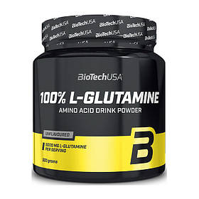 Глютамін BioTech 100% L-Glutamine (500 г) биотеч Без добавок