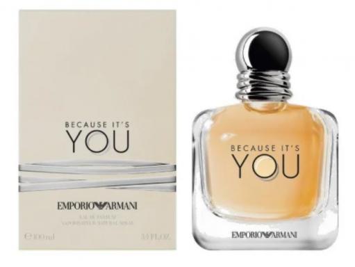 Женская парфюмированная вода Giorgio Armani Emporio Armani Because It's You,100 мл