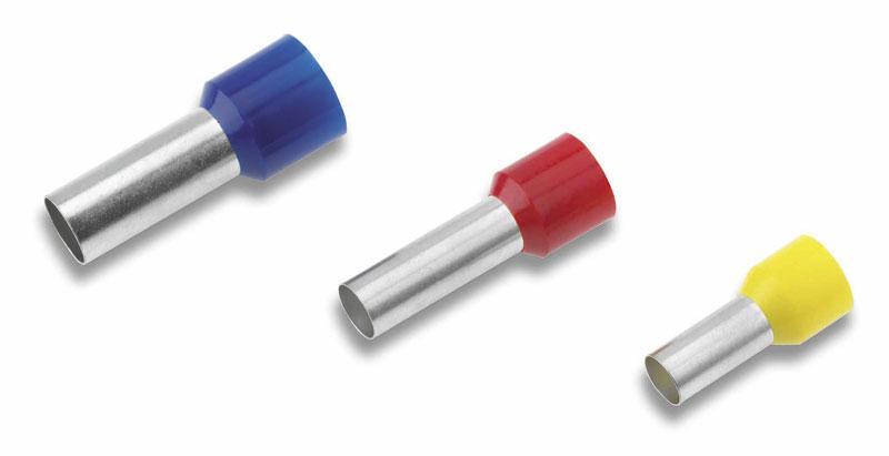 Втулковые изолированные наконечники DIN 46228