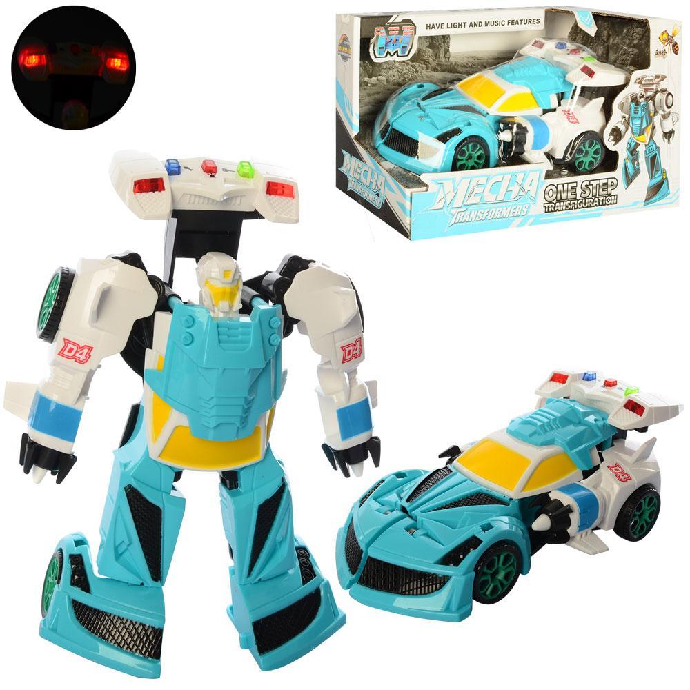 Трансформер робот+машинка 20 см