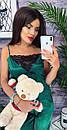 """Красива атласна жіноча піжама """"Єва"""" - розміри S-M і M-L, фото 6"""