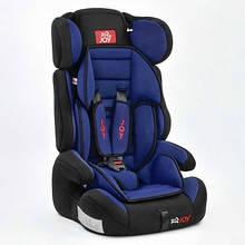 Автокресло универсальное Joy с бустером, 9-36 кг, черно-синее SKL11-178846