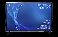"Технологичный  Телевизор Bravis 50""  Smart-TV ULTRA HD T2 USB Гарантия 1 ГОД!, фото 1"