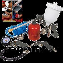 Набор пневмоинструмента для компрессора 5 в 1