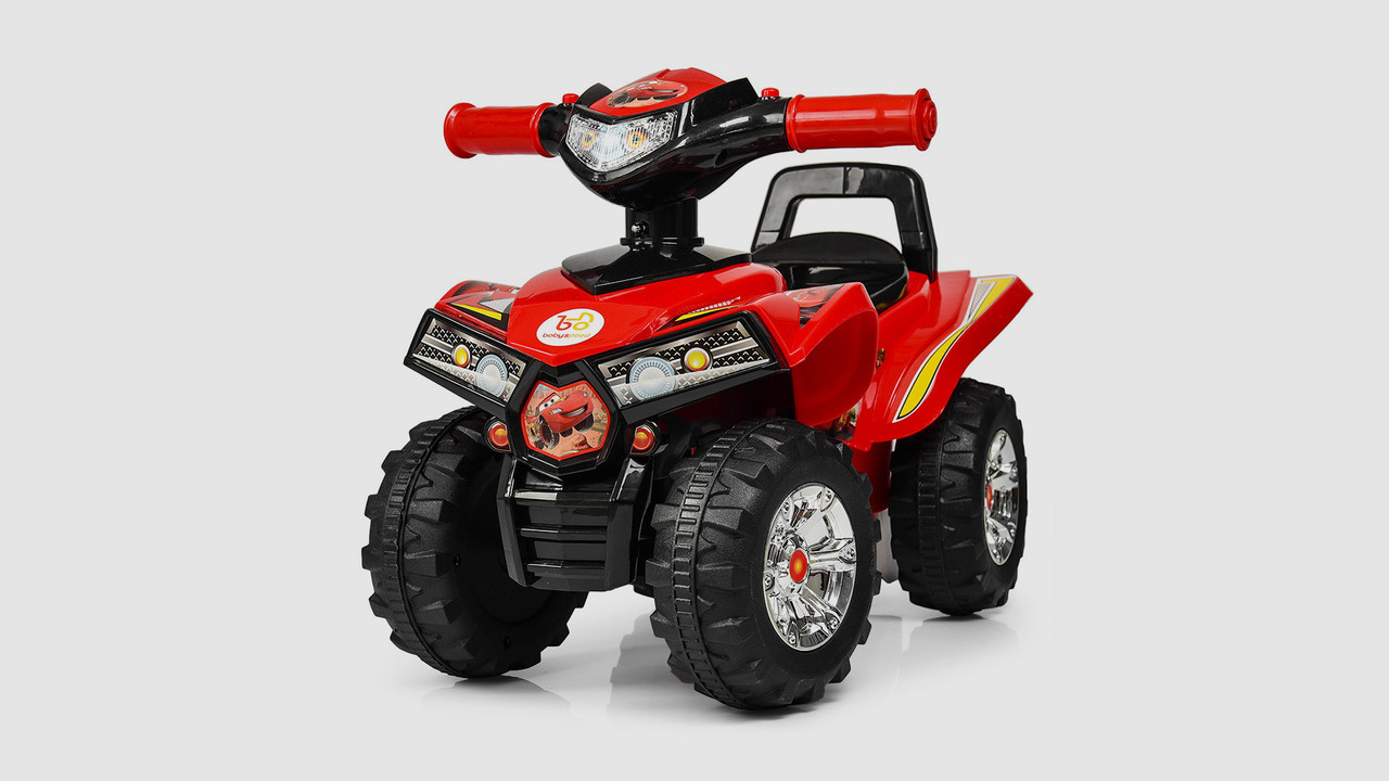 Каталка-толокар - детский квадроцикл. Красного цвета.