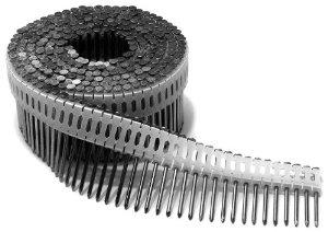 Гвозди Duo-Fast для композитной черепицы / чёрный хром