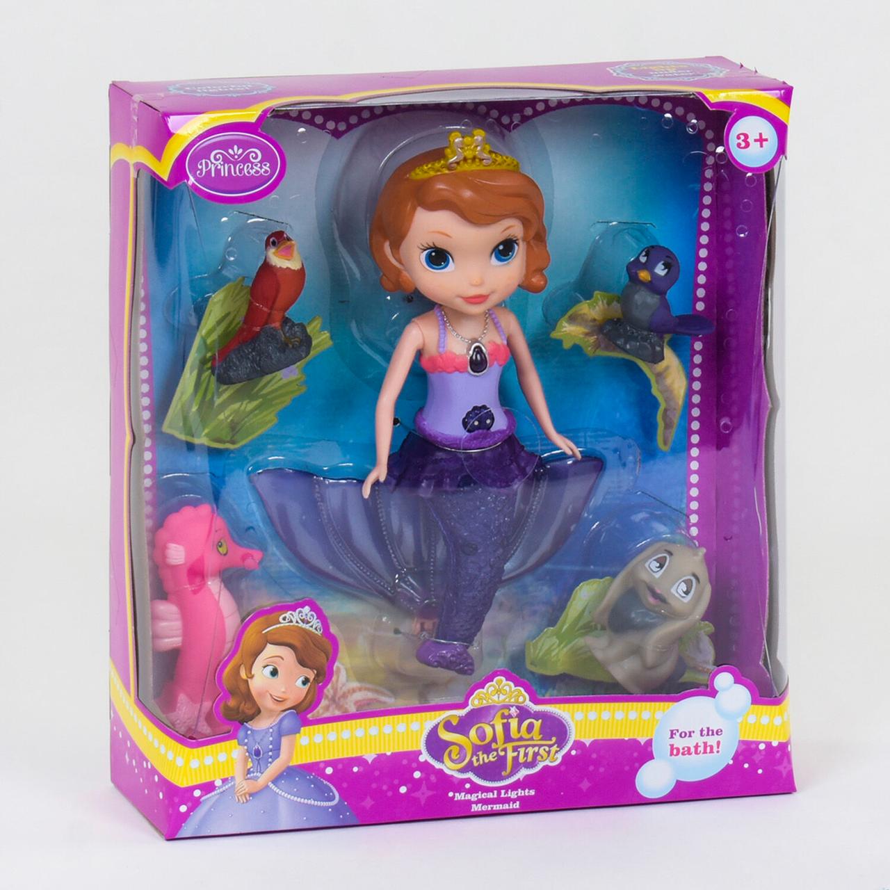 Кукла принцесса София   София прекрасная в виде русалки 25см (световые эффекты)