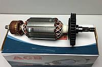 Якорь (ротор) для УШМ Einhell 125/850 старая.(158 *38 посадка 8 мм).