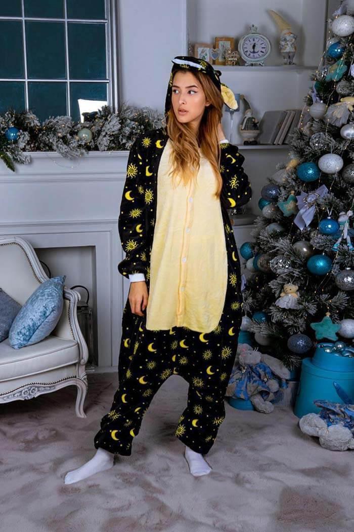 Кигуруми Единорог Лунный пижама женская детская