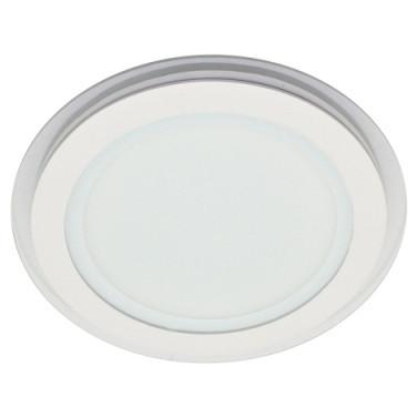 Потолочный cветильник светодиодный SEAN SL456 12W 4000K круглый белый сатурн Код.57678