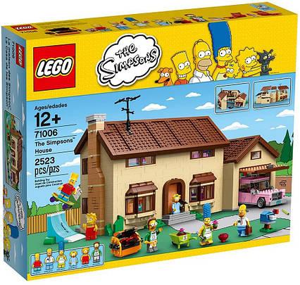 Lego Simpsons Будинок Сімпсонів 71006