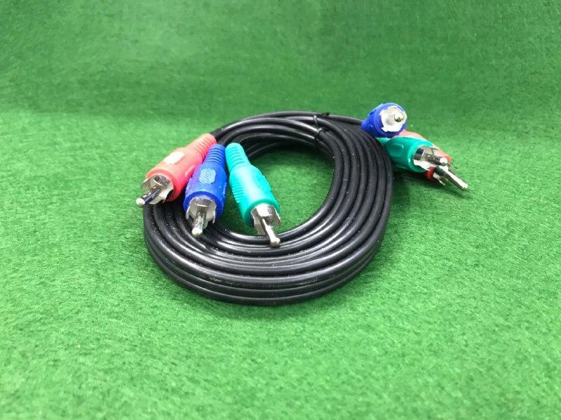 Кабель мультимедійний 3XRCA GE 1.8 m (Component Video Cable)