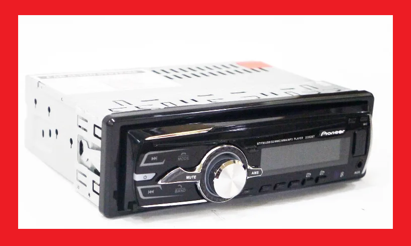 Автомагнитола Pioneer 3228D Usb+RGB подсветка+Fm+Aux+ пульт СЪЕМНАЯ ПАНЕЛЬ (4x50W)