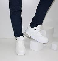 Мужские кроссовки высокие 61-120 белый