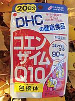 Коэнзим Q10. Крепкое здоровье, работа сердца. Курс - 40 капсул на 20 дней. DHC, Япония , фото 1