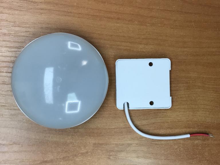 Светодиодный светильник накладной потолочный SL-SUN2 9W 6000K круг белый Код.59368