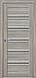 """Двері засклені міжкімнатні новий стиль Італьяно """"Віченца C1 BLK,BR,GRF"""" 60-90 см перли срібний, фото 5"""