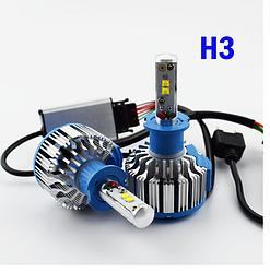 Автомобильные светодиодные лампы с цоколем T1 H3