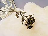 Роза из металла, кованые розы, фото 3