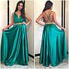 Шелковое платье с открытой спиной, фото 2
