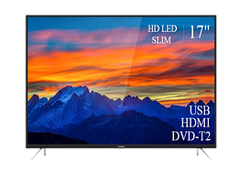 "Современный  Телевизор   THOMSON 17"" FullHD T2 USB Гарантия 1 ГОД!"
