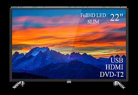 "Современный  Телевизор   THOMSON 22"" FullHD T2 USB Гарантия 1 ГОД!(1080р)"