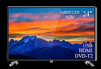 "Современный  Телевизор   THOMSON 24"" FullHD T2 USB Гарантия 1 ГОД!(1920×1080)"