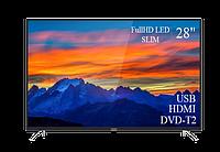 """Сучасний Телевізор THOMSON 28"""" FullHD T2 USB Гарантія 1 РІК!(1920×1080)"""
