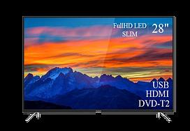 "Современный  Телевизор   THOMSON 28"" FullHD T2 USB Гарантия 1 ГОД!(1920×1080)"