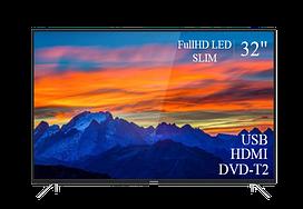 "Современный  Телевизор   THOMSON 32"" FullHD T2 USB Гарантия 1 ГОД!(1920×1080)"