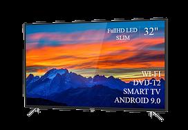 "Современный  Телевизор   THOMSON 32""  Smart-TV FullHD T2 USB Гарантия 1 ГОД! Android 9.0"