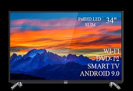 "Современный  Телевизор   THOMSON 34""  Smart-TV FullHD T2 USB Гарантия 1 ГОД! Android 9.0"
