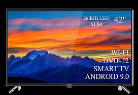"Современный  Телевизор   THOMSON 42""  Smart-TV FullHD T2 USB Гарантия 1 ГОД! Android 9.0"