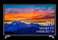 "Современный  Телевизор   THOMSON 45""  Smart-TV FullHD T2 USB Гарантия 1 ГОД! Android 7.0, фото 1"