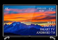 "Современный  Телевизор   THOMSON 52"" Smart-TV/DVB-T2/USB (1920×1080) Android 7.0 АДАПТИВНЫЙ 4К/UHD, фото 1"