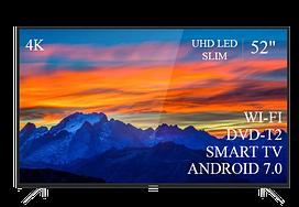 "Современный  Телевизор   THOMSON 52"" Smart-TV/DVB-T2/USB (1920×1080) Android 7.0 АДАПТИВНЫЙ 4К/UHD"