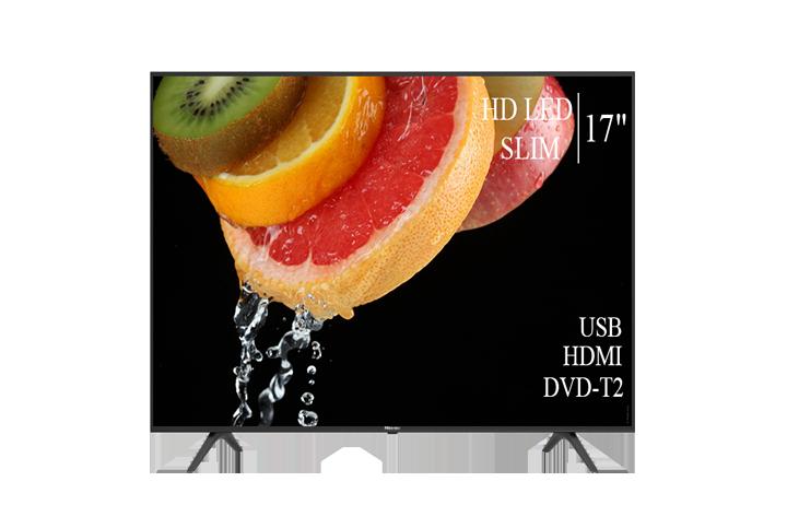 """Сучасний Телевізор Hisense 17"""" HD-Ready DVB-T2 USB Гарантія 1 РІК! (1366x768)"""
