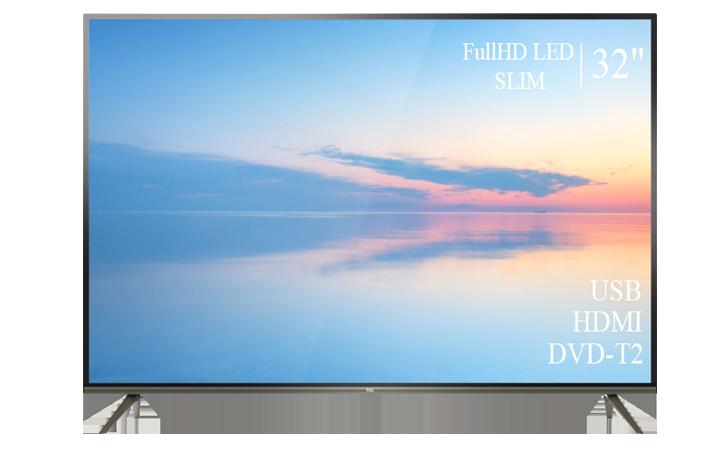 "Современный  Телевизор   TCL  32"" FullHD DVB-T2 USB Гарантия 1 ГОД!"