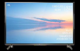 """Сучасний Телевізор TCL 52"""" Smart-TV ULTRA HD T2 USB Гарантія 1 РІК!"""