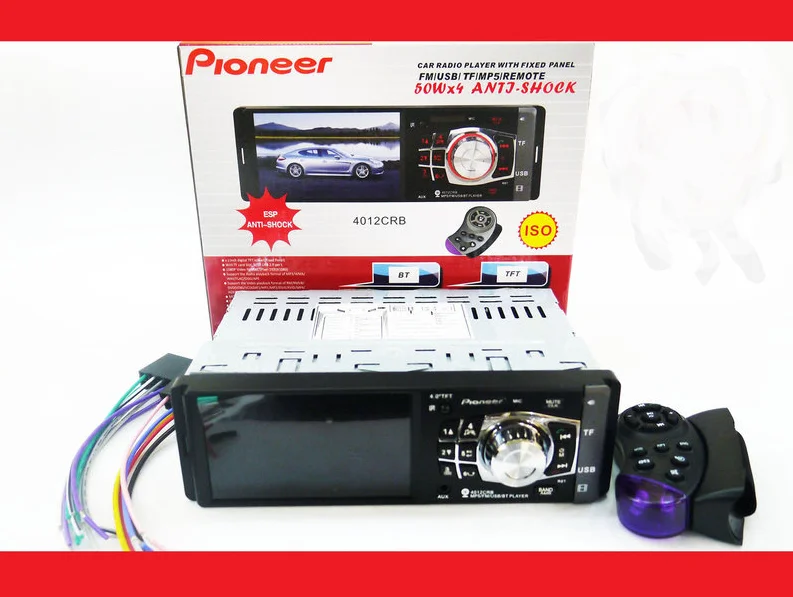 Pioneer 4012 ISO - экран 4,1''+ DIVX + MP3 + USB + SD + BLUETOOTH