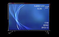 "Современный  Телевизор   Bravis 22"" FullHD T2 USB Гарантия 1 ГОД!(1080р), фото 1"