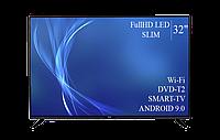 """Современный  Телевизор   Bravis 32"""" Smart-TV FullHD T2 USB Гарантия 1 ГОД!, фото 1"""